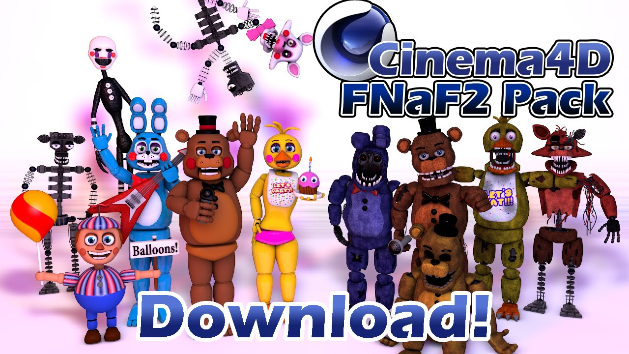 Cinema4d five nights at freddys 2 rig pack youtube publicscrutiny Choice Image