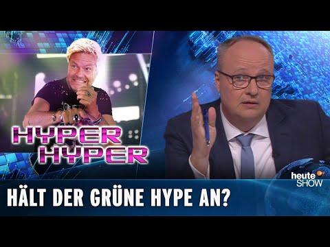 Grüner Höhenflug: Wird Robert Habeck jetzt Kanzler? | heute-show vom 07.06.2019