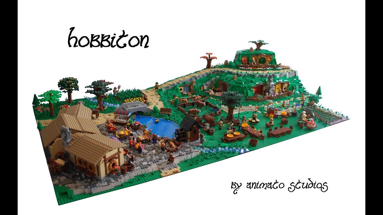 Lego Hobbiton Moc Youtube