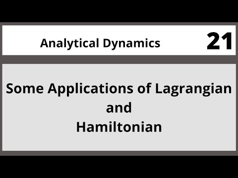 Analytical Dynamics in Hindi Urdu MTH382 LECTURE 21