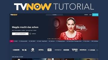 So funktioniert das neue TVNOW (PREMIUM) // Tutorial