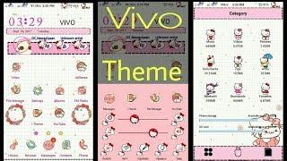 VIVO Phone Theme : Hello Kitty (Pink) by Tech-Nick