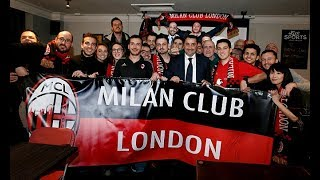 #WorldMilanClub: First Stop Milan Club London 2017 Video