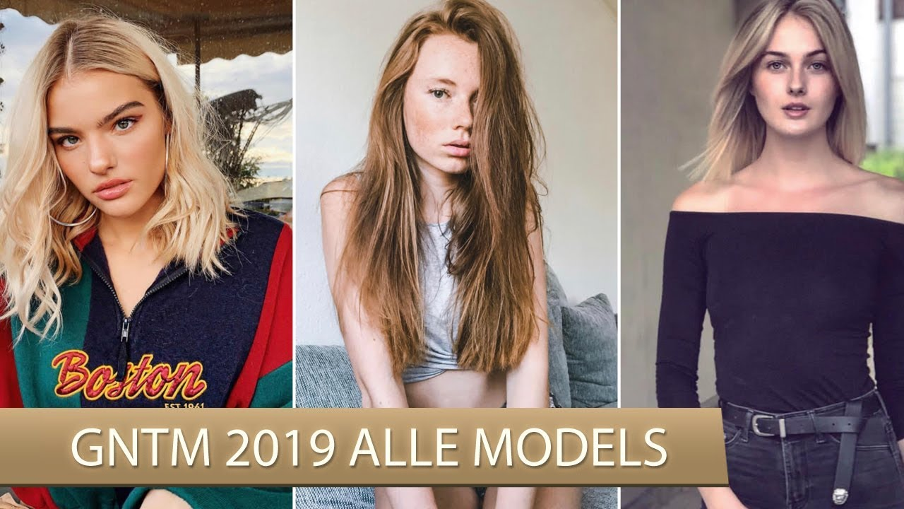 Germanys Next Topmodel 2021 Kandidatinnen