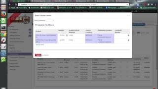 ODOO - Delivery order issues