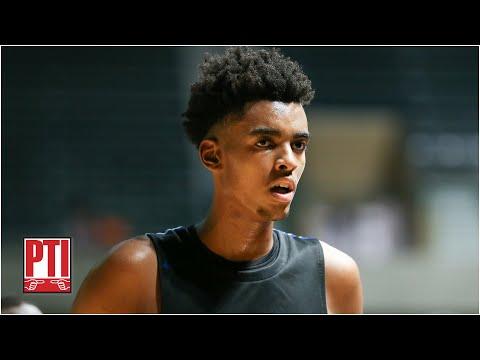 Will top NBA prospect Emoni Bates ever play at Michigan State? | Pardon the Interruption