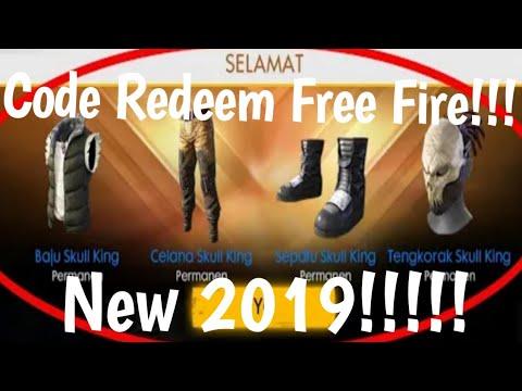 Kode Redeem Free Fire Terbaru 2019
