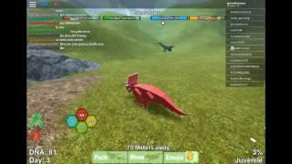 Roblox:Hoy en dinosaur simulator