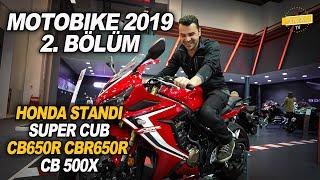 Motobike 2019 Honda Standı