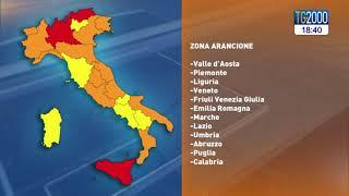Covid, lombardia rossa ma l'italia è in gran parte arancione. cosa prevedono le nuove regole