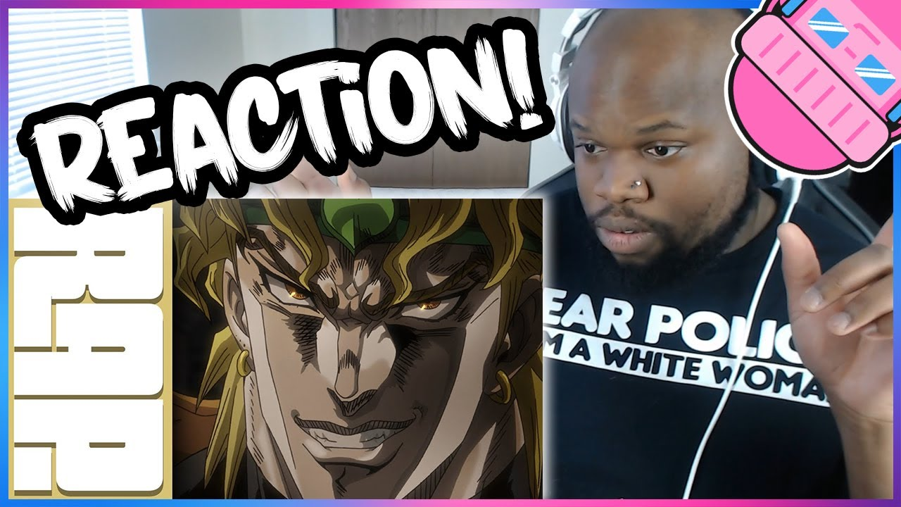 "Dio Rap Reaction | ""Za Warudo"" 