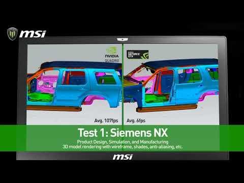 NVIDIA Quadro P4000 Vs GeForce GTX 1070 (3D Rendering Siemens NX, Catia)