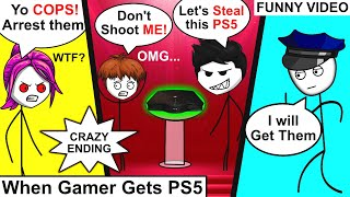 When A Gamer Gets PlayStation 5 | Gamer Gets PS5