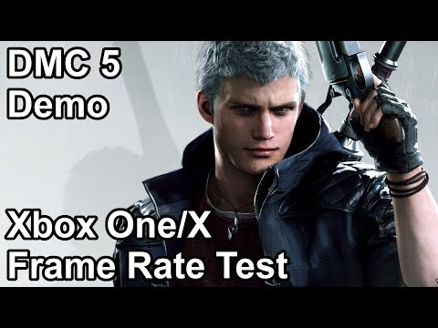 Devil May Cry 5 Xbox One vs Xbox One X Frame Rate Comparison (Demo) thumbnail