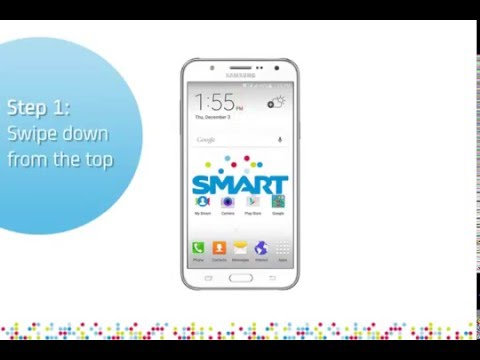 Samsung Galaxy J7: Turn on/off data services
