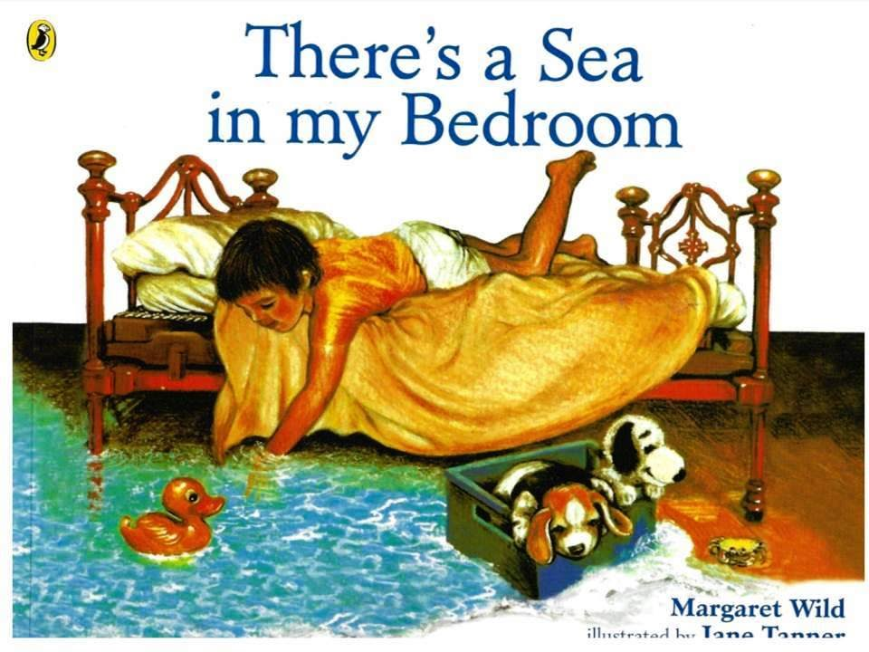 There S A Sea In My Bedroom Book Kids Reading With