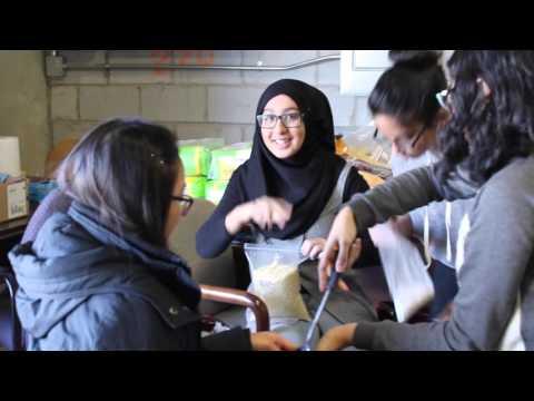 WE CLUB VLOG #4 - Volunteering at SEVA Food Bank