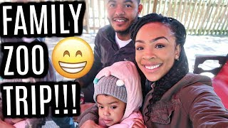 VLOG #167 | FAMILY TRIP TO THE ZOO!!! | Skylar's First time going to the Zoo!