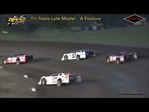 Tri-State Late Model A Feature - Rapid Speedway - 7/17/18
