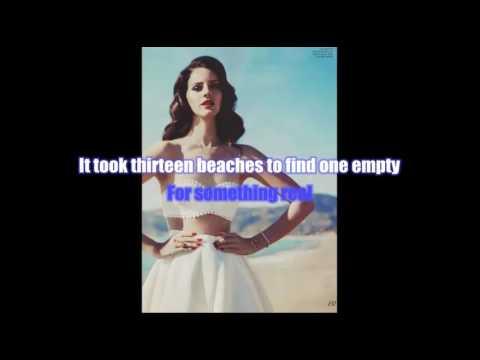Lana Del Rey ~ 13 Beaches Karaoke