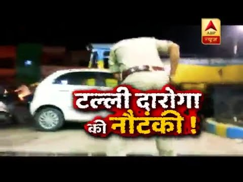 Sansani: Drunk police officer creates ruckus at petrol pump in Allahabad