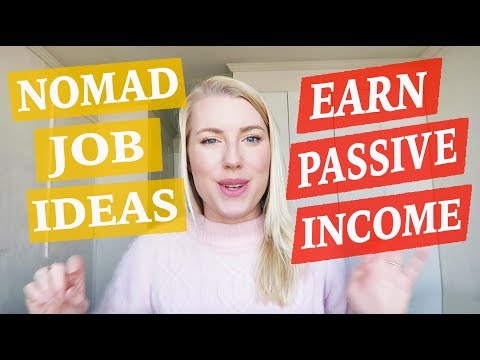 EARN PASSIVE INCOME - Digital Nomad Jobs ♡ 50 Job Ideas Part 6
