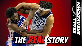 The REAL Story Behind The Joel Embiid Karl-Anthony Towns Fight