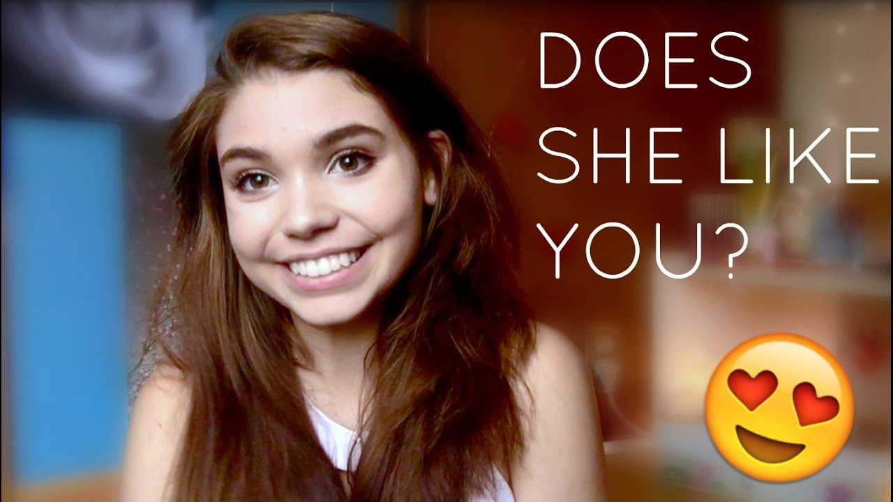 How to tell if a shy girl likes you