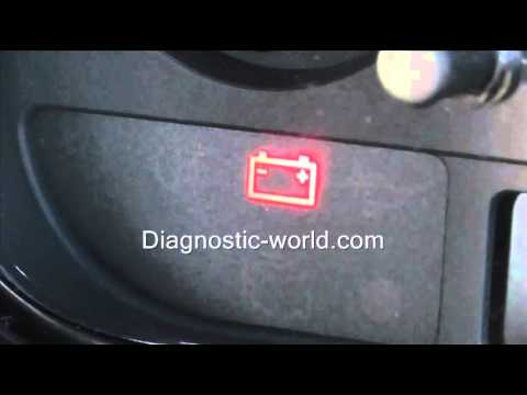 VW Battery Warning Light   What It Means & Checking It