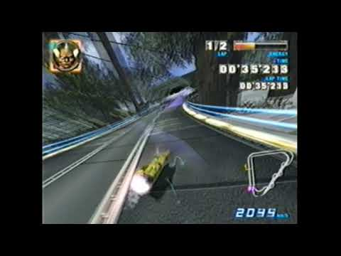 F-Zero GX GPI Shift Boost After Tunnel On Boost Lap