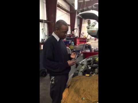 Check engine blinking