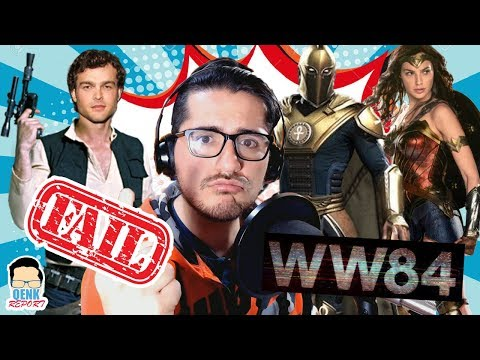 ¿Wonder Woman 2 con Dr Fate? - Han Solo: Desastre en taquilla - Watchmen (HBO) | QR