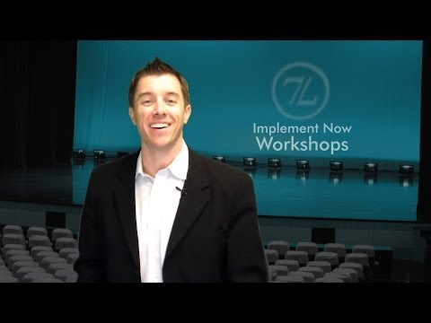 Implement Now Workshops | Brian Heckman 813-749-7776
