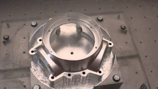 Home made cnc router cutting propeller hub