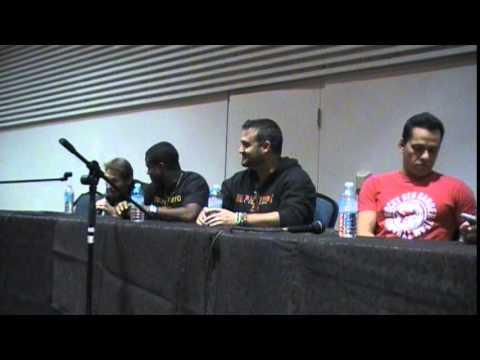 Mighty Morphin Q and A - Hamilton Comic Con Oct 04 2014