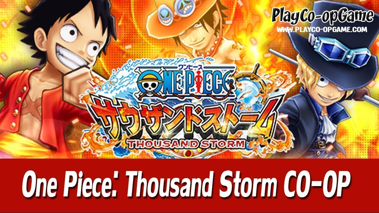 ONE PIECE THOUSAND STORM Mobile/Android/iOS - Co-op ...