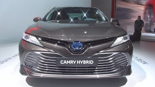 Toyota Camry Hybrid (2019) Exterior and Interior