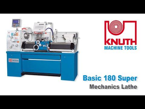 Basic 180 V Mechanics Lathe Mechanics Lathes Knuth Machine Tools
