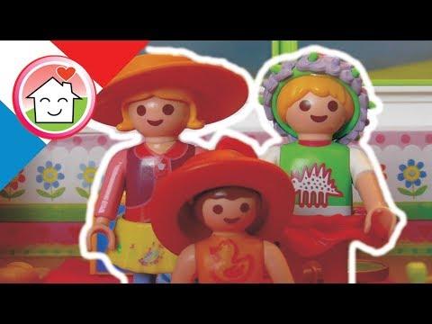 Playmobil en français Se déguiser  / La famille Hauser / film pour enfants