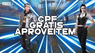APROVEITA O CPF VALIDO (SÓ COLOCAR E LET'S GO)