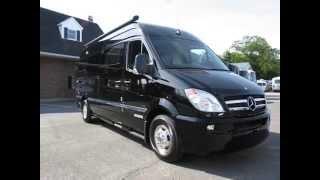 2012 Airstream Interstate 3500 Lounge 22' Black Mercedes-Benz Sprinter Diesel RV Motor Home Class B