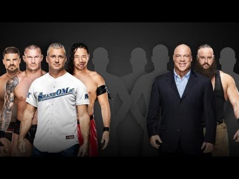 Updated WWE Survivor Series 2017 Card thumbnail
