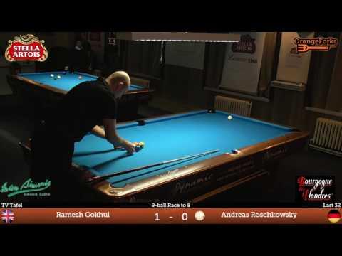 Ramesh Gokhul (GB) v Andreas Roschkowsky (GER) | Last 32 | 2017 Stella Artois Open