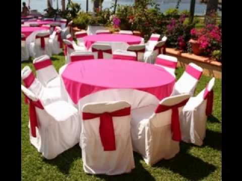 Wedding Reception Table Decorations Youtube