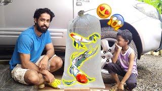 PART-2—2,000/- രൂപയുടെ നാലു മീനുകളെ മേടിക്കാൻ പോയപ്പോൾ!! | Bought four new Koi carp fantail Kerala