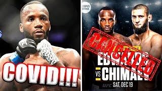 BREAKING! Leon Edwards vs Khamzat Chimaev is CANCELLED!!! Cody Garbrandt eyeing return