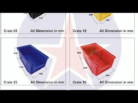 +919829051660, GLOBAL STAR, Plastic Bins, Industrial Bins,  Spare Parts Storage Bins