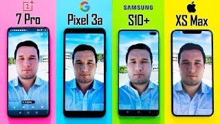 OnePlus 7 Pro vs Pixel 3a vs S10+ vs XS - Camera Comparison