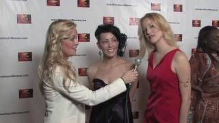 veHeart Awards TL Forsberg & Jenine Mayring w/ Charity Winters