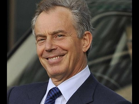 Tony Blair champions his failed brand of centrism......again.